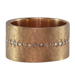 Luca Jouel Rose Cut Diamond Rose Gold Ancienne Diamant Ring