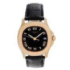 Patek Philippe Yellow Gold Aquanaut Automatic Wristwatch Ref 5060J