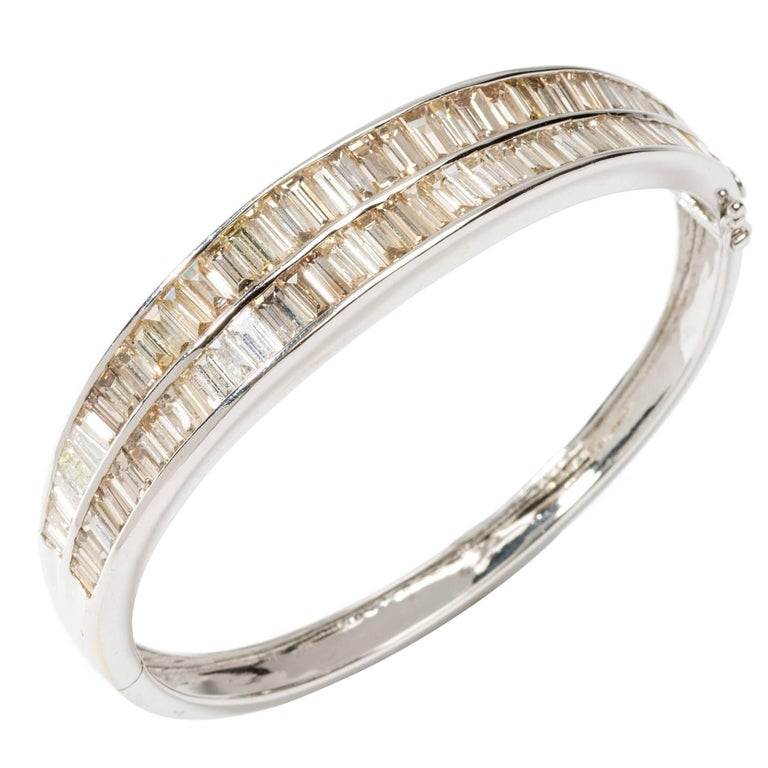 Gorgeous Diamond Bangle Bracelet