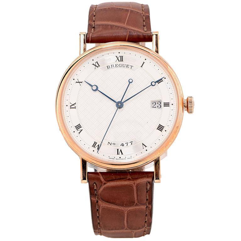 Breguet Rose Gold Classique Automatic Wristwatch