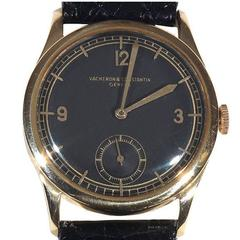 Vacheron & Constantin Yellow Gold Wristwatch