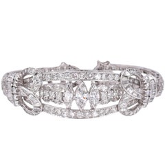 1930 Art Deco Diamond Bracelet