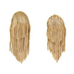 Tiffany & Co. Gold Fringe Earrings