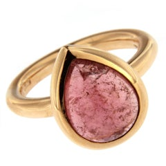 Jona Pink Tourmaline 18 Karat Rose Gold Ring