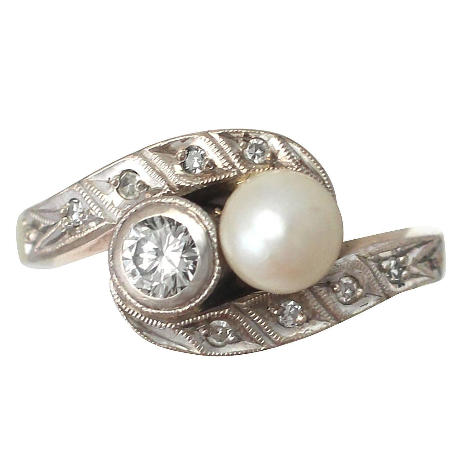 engagement pretty diamond ring vert and weddings trumpet pearl rings horn stewart martha
