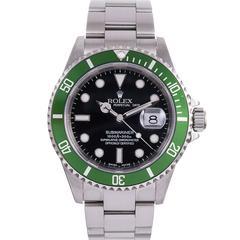 """Rolex Stainless Steel """"F"""" Series Anniversary Submariner Wristwatch Ref 93250"""