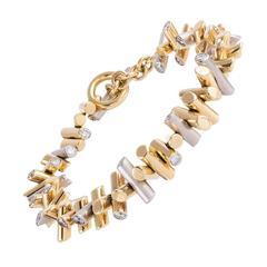 Tamara Comolli 7.20 Carat Diamond Gold Bracelet