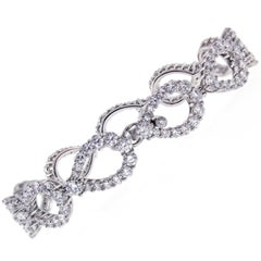 Harry Winston Diamond Loop Bracelet