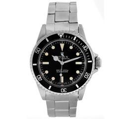 Rolex Stainless Steel Submariner Automatic Wristwatch Ref 5513