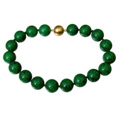 Natural Maw Sit-Sit Jade Beads Necklace
