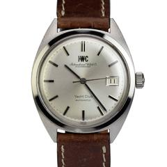 IWC Stainless Steel Yacht Club Automatic Wristwatch