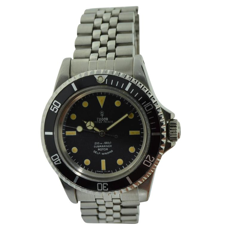 Tudor by Rolex Stainless Steel Oyster Watch Ref 7928
