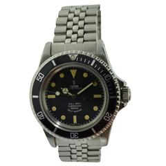 Tudor by Rolex Stainless Steel Oyster Wristwatch Ref 7928