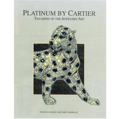 Book of Platinum by Cartier  - Triumph of the Jewelers' Art