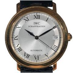 IWC Portofino Schaffhausen Yellow Gold Automatic Wristwatch