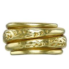 Victorian Yellow Gold Coil Ring