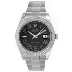 Rolex Stainless Steel Datejust II Wristwatch Ref 116334