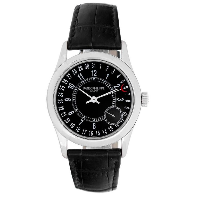 Patek Philippe White Gold Calatrava Automatic Wristwatch  1