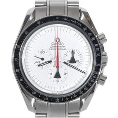 Omega Stainless Steel Alaska Project Speedmaster Professional Wristwatch