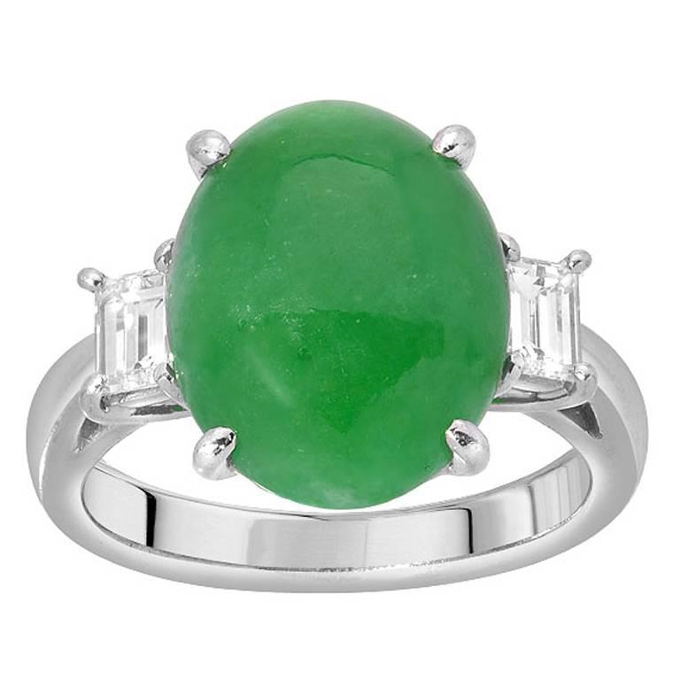 art products jade boylerpf vintage gold ring deco diamond green