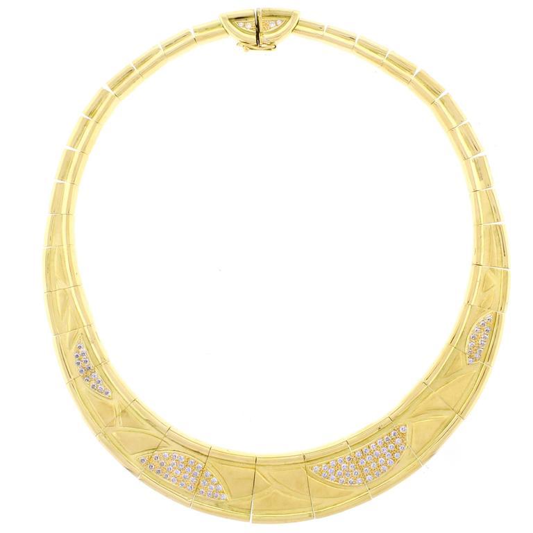 Burle Marx Diamond Necklace