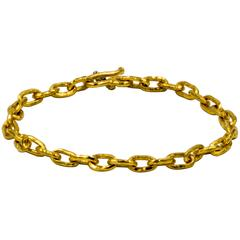 Classic Jean Mahie Small Cadene Chain Bracelet