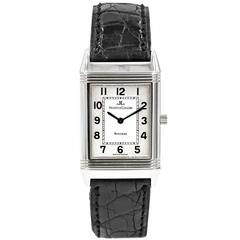 Jaeger LeCoultre Stainless Steel Reverso Classis Manual Wind Wristwatch