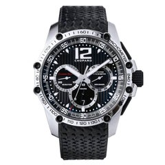 Men's Chopard Stainless Steel Chronograph Wristwatch