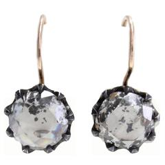 Luise Old Cut Diamond Earrings