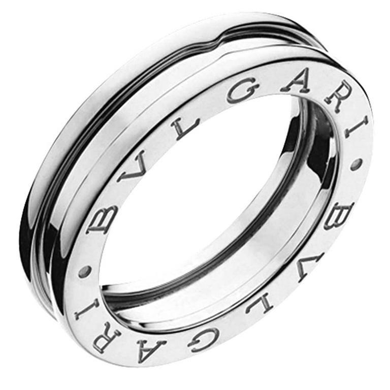 Bulgari BZero1 White Gold  Ring