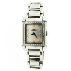 Girard-Perregaux Ladies Stainless Steel Mother of Pearl Dial Wristwatch