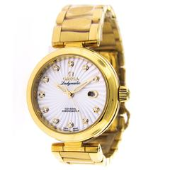 Omega Ladies Yellow Gold Ladymatic Automatic Wristwatch