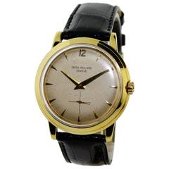 Patek Philippe Yellow Gold Disco Volante Original Dial Automatic Watch