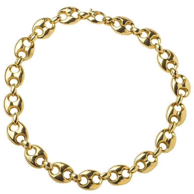 Gucci Gold Link Necklace