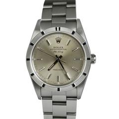Rolex Stainless Steel Air-King Precision Wristwatch