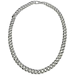 Substantial Edwardian Sterling Silver Chain