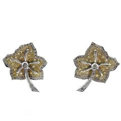 Luise Diamonds Topaz Clip-on Earrings