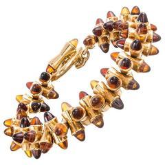 Tamara Comolli 48 Carat Sugarloaf Gemstone Tipped Bracelet