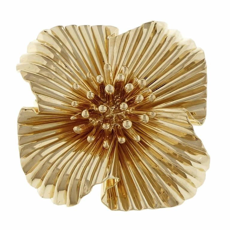 Tiffany & Co  Yellow Gold Brooche