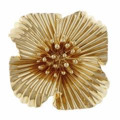 Tiffany & Co  Yellow Gold Brooche