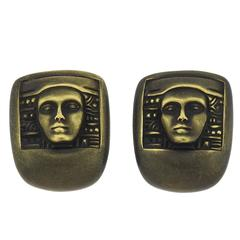 Kieselstein Cord Women Of The World Collection Green Gold Earrings