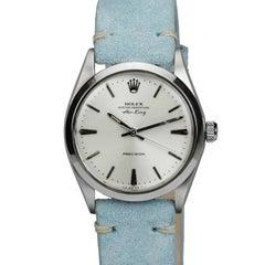 Rolex Stainless Steel Air King Precision Wristwatch Ref 5500