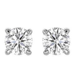 5.11 Carat GIA Certified I/SI2 Diamond Studs