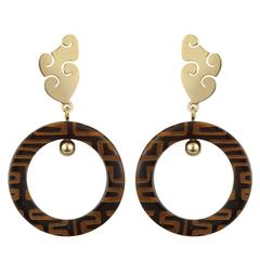 Fouche Horn Africa Earrings