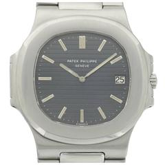 Patek Philippe Stainless Steel Nautilus Wristwatch Ref. 3700