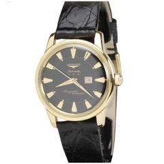 Longines Yellow Gold Conquest Calendar Wristwatch