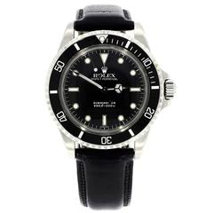 Rolex Stainless Steel Submariner Automatic Wristwatch Ref 5513