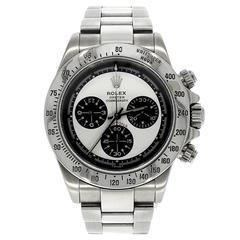 Rolex Daytona Stainless Steel Chronograph 116520 Automatic Wrist Watch