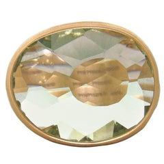 Pomellato Arabesque Gold Prasiolite Ring