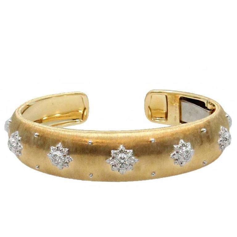 Gold Buccellati Macri Cuff Bracelet